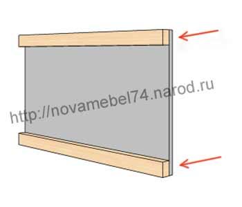чертеж сборки подлокотника