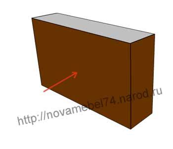 чертеж 3 сборки подлокотника
