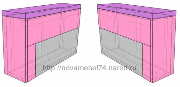 чертеж 6 сборки подлокотника